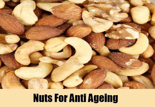 Nuts For Anti Ageing