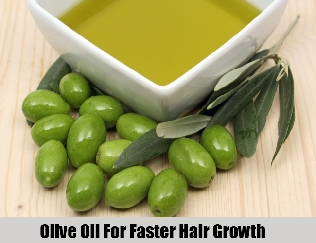 Olive Oil For Faster Hair Growth