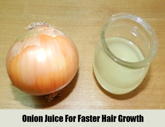 Onion Juice For Faster Hair Growth