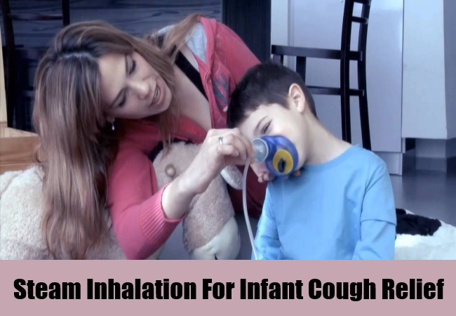 Steam Inhalation For Infant Cough Relief