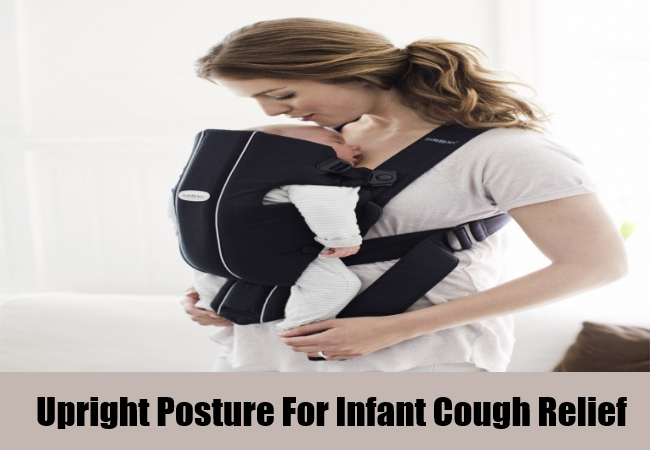 Upright Posture For Infant Cough Relief