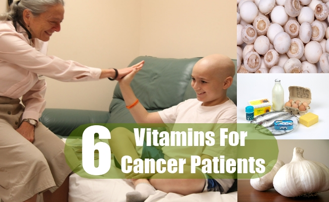 Vitamins For Cancer Patients