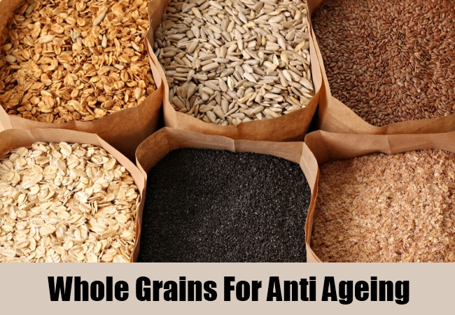 Whole Grains For Anti Ageing