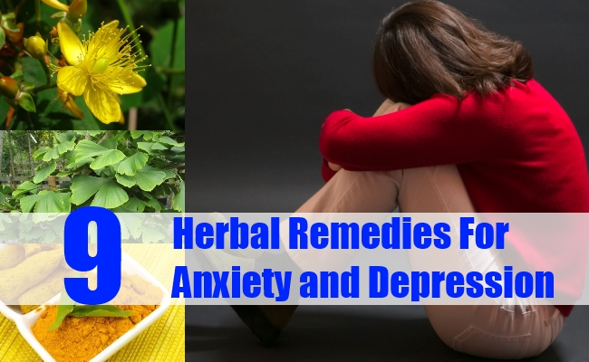Herbal Remedies for Anxiety and Depression