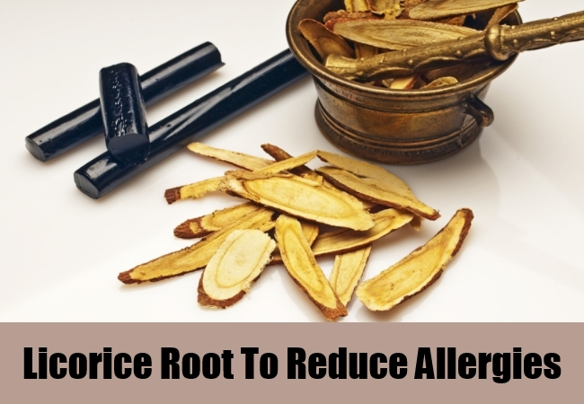 Licorice Root To Reduce Allergies