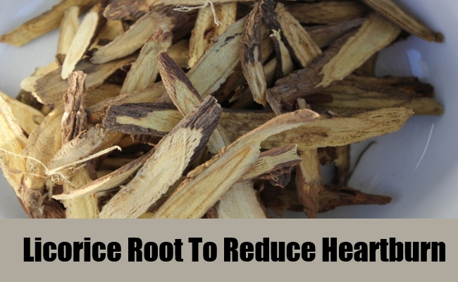 Licorice Root To Reduce Heartburn