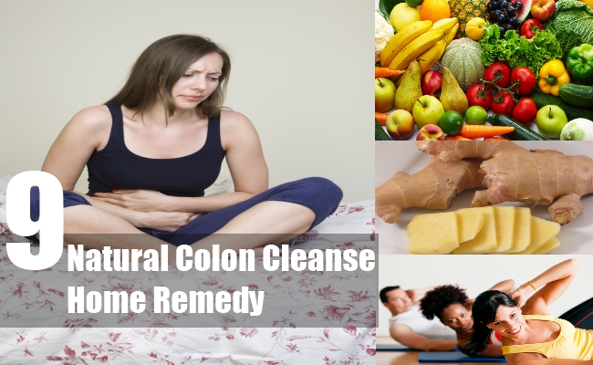 Natural Colon Cleanse Home Remedy