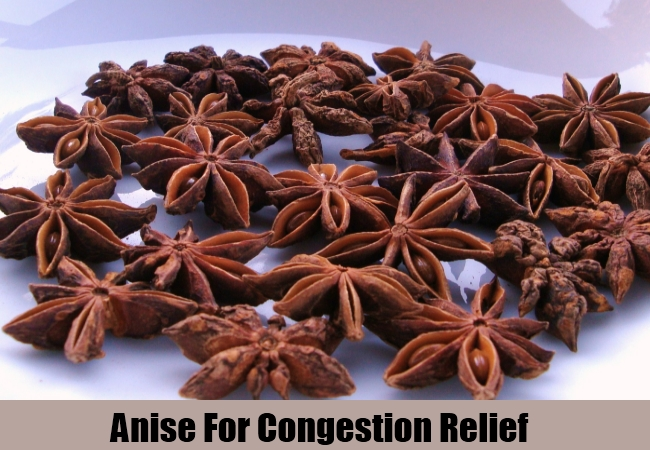 Anise For Congestion Relief