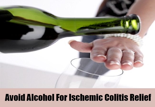 Avoid Alcohol For Ischemic Colitis Relief