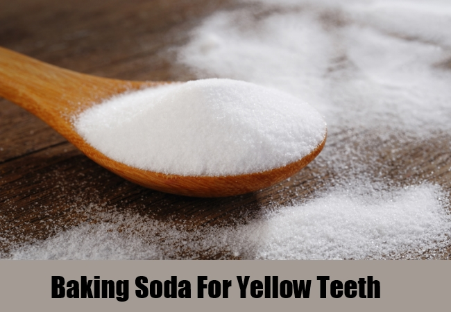 Baking Soda For Yellow Teeth