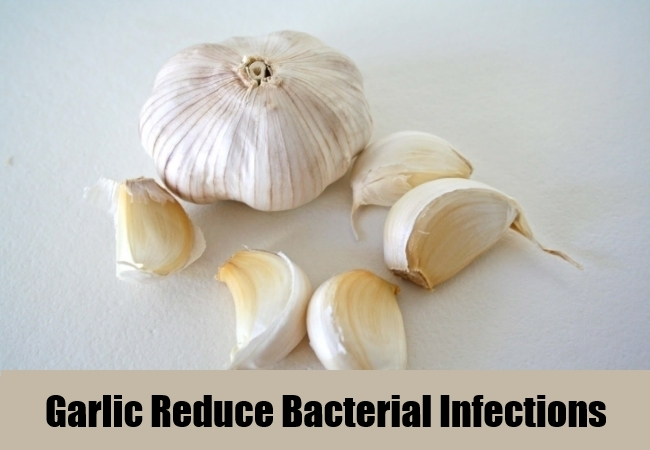 Garlic Reduce Bacterial Infections