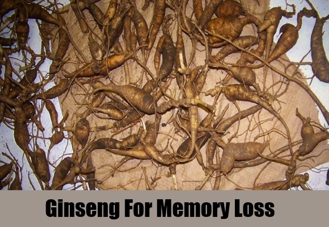Ginseng For Memory Loss