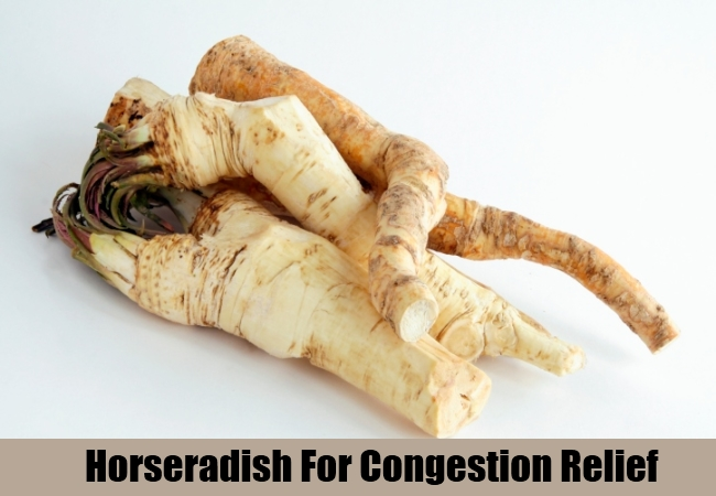 Horseradish For Congestion Relief