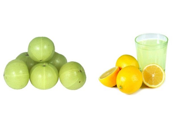 Lemon Juice And Gooseberry