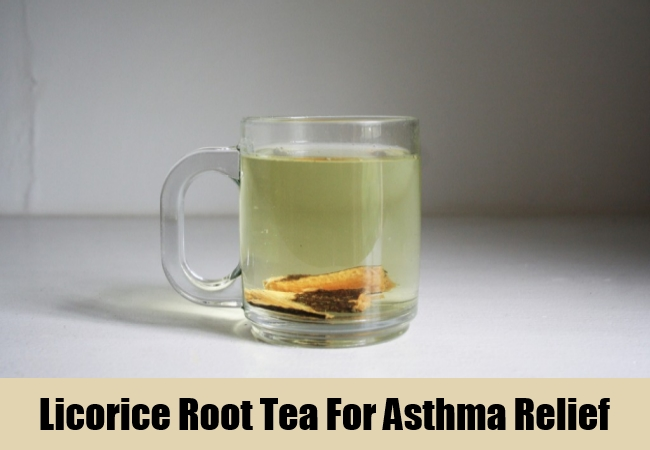 Licorice Root Tea For Asthma Relief