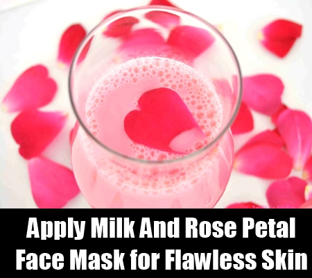 Milk And Rose Petal