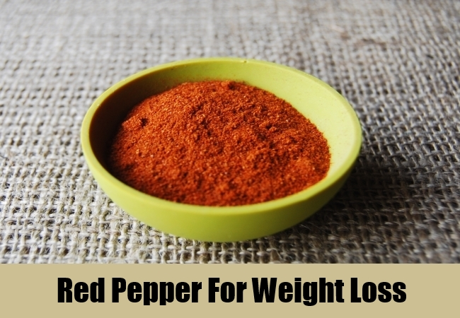 Red Pepper For Weight Loss