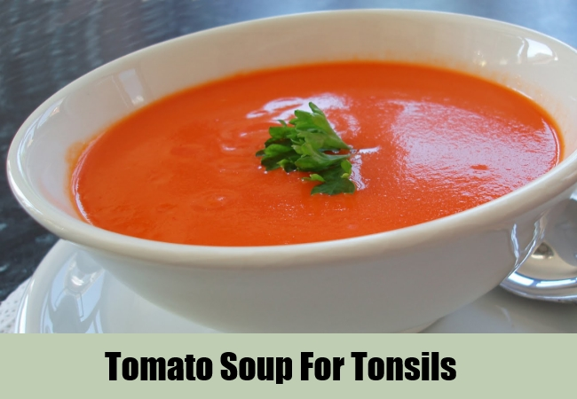 Tomato Soup For Tonsils