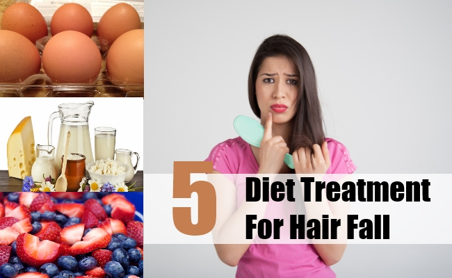 Diet Treatment For Hair Fall