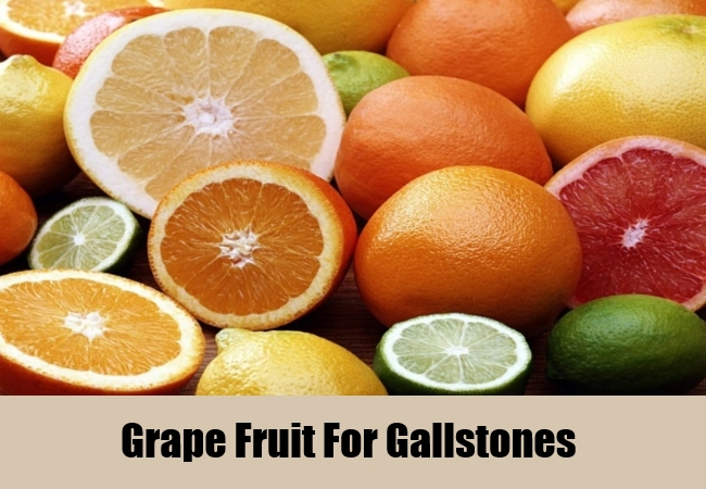 Grape Fruit For Gallstones