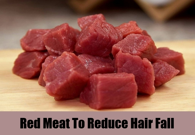 Red Meat To Reduce Hair Fall