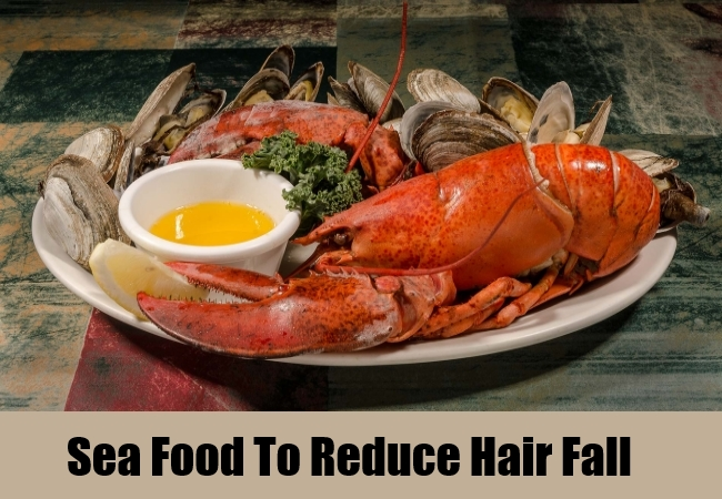 Sea Food To Reduce Hair Fall