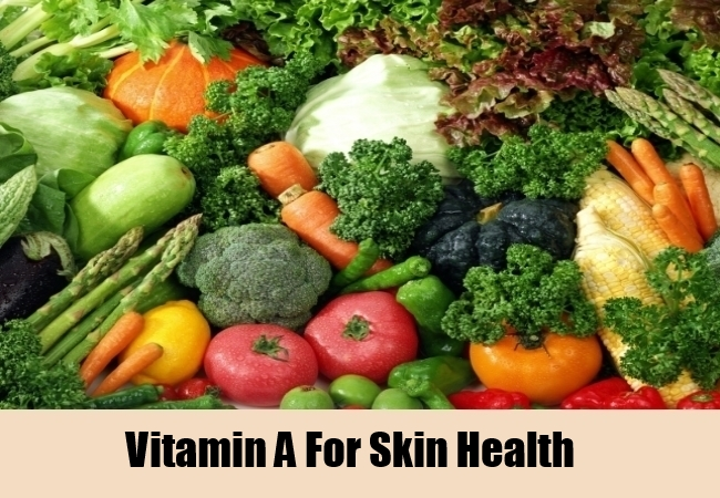 Vitamin A For Skin Health