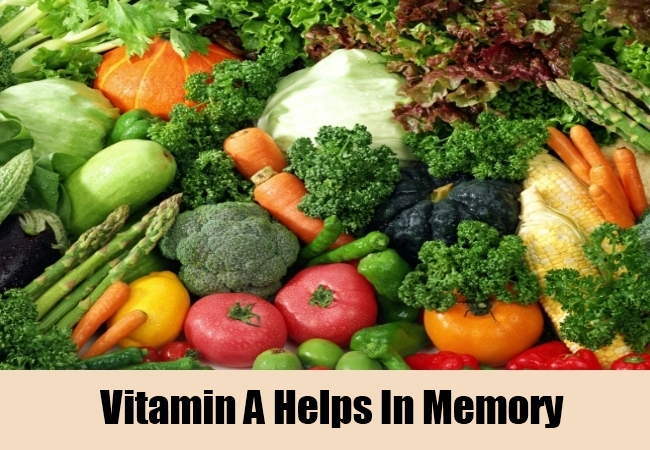 Vitamin A Helps In Memory