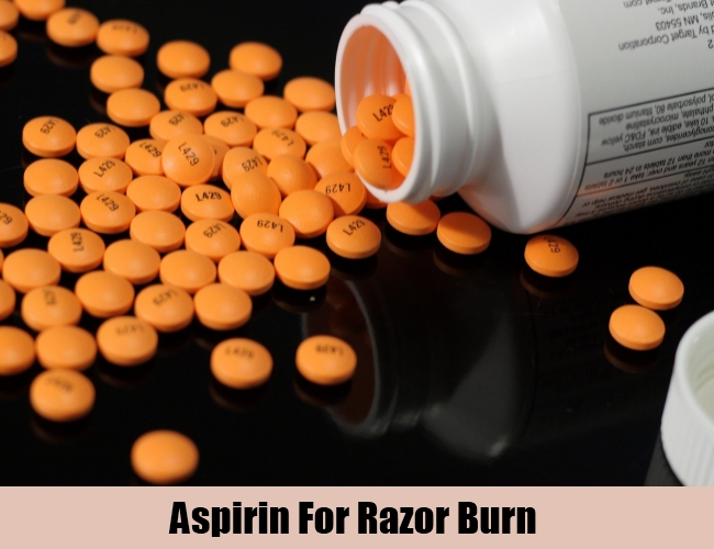 Aspirin For Razor Burn