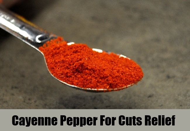 Cayenne Pepper For Cuts Relief