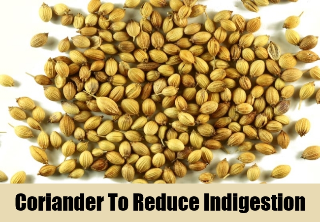 Coriander To Reduce Indigestion