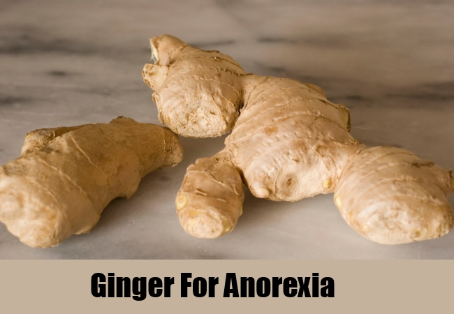 Ginger For Anorexia