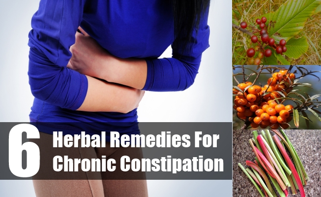 Herbal Remedies For Chronic Constipation