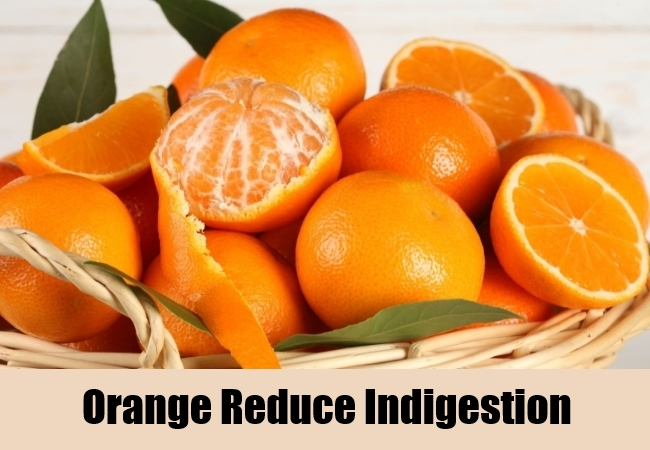 Orange Reduce Indigestion