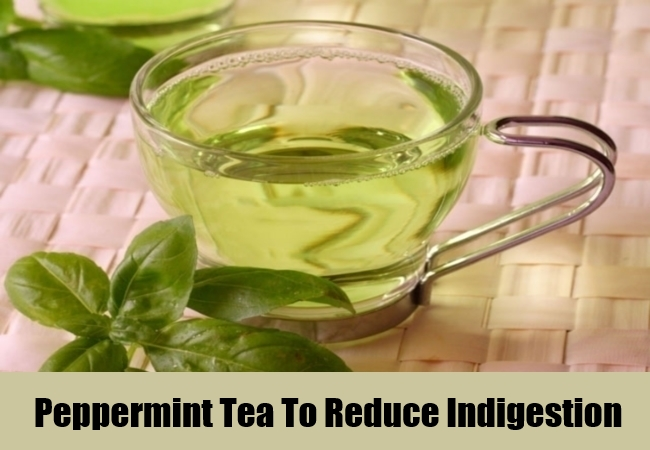 Peppermint Tea To Reduce Indigestion