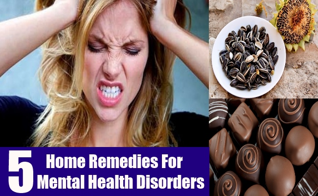 5 Home Remedies For Mental Health Disorders