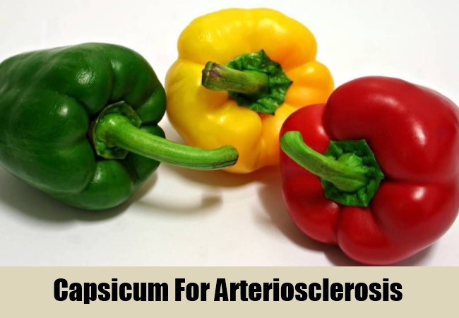 Capsicum For Arteriosclerosis