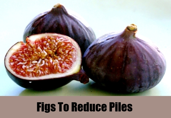 Figs To Reduce Piles