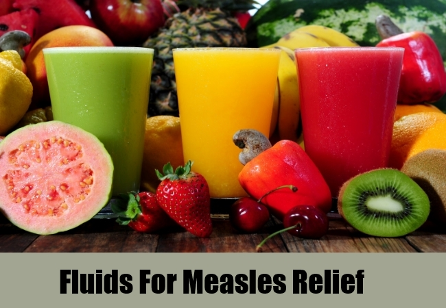 Fluids For Measles Relief
