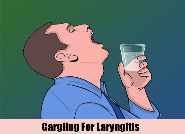 Gargling For Laryngitis