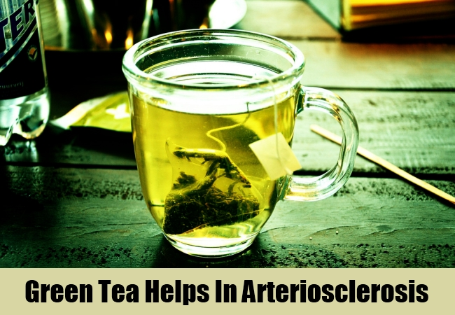 Green Tea Helps In Arteriosclerosis