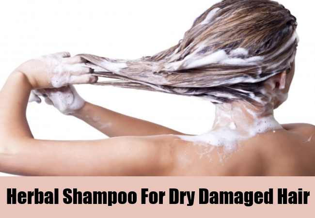 Herbal Shampoo For Dry Damaged Hair