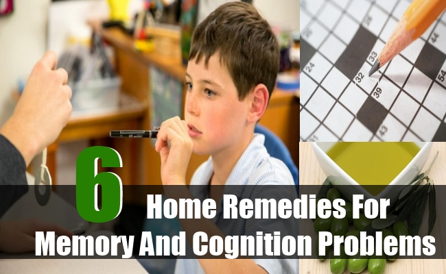 Home Remedies For Memory And Cognition Problems