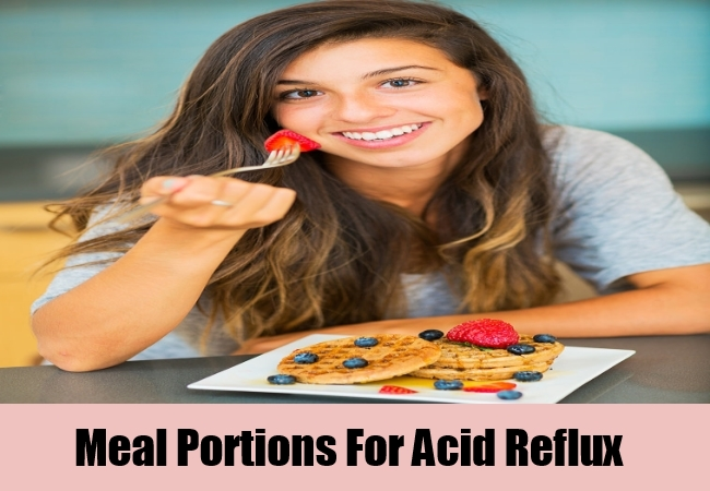Meal Portions For Acid Reflux
