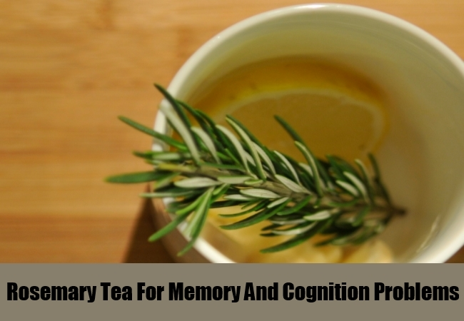Rosemary Tea For Memory And Cognition Problems