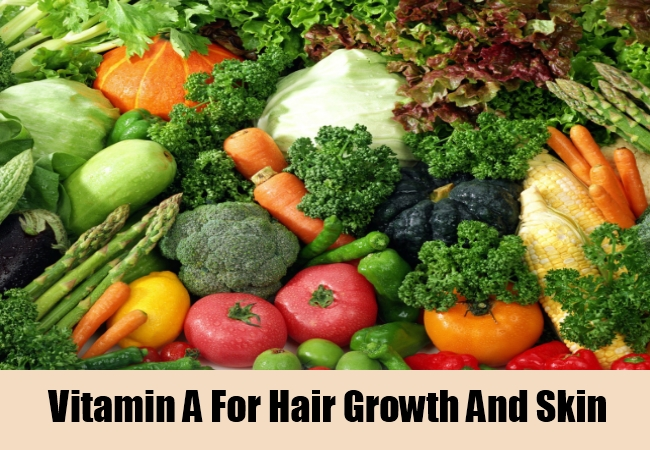 Vitamin A For Hair Growth And Skin