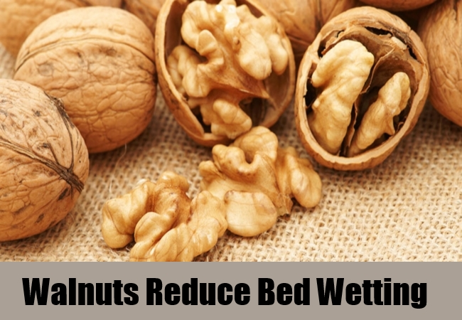 Walnuts Reduce Bed Wetting