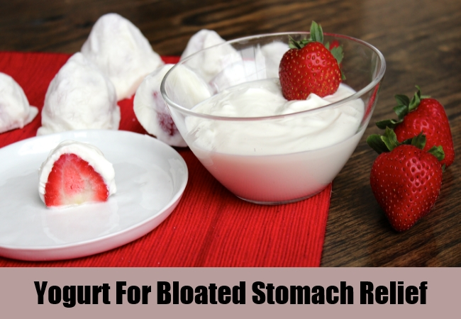 Yogurt For Bloated Stomach Relief