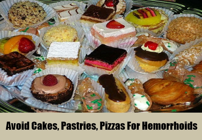 Acoid Cakes, Pastries,pizzas For Hemorrhoids
