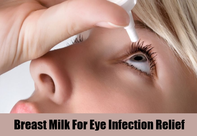 Breast Milk For Eye Infection Relief